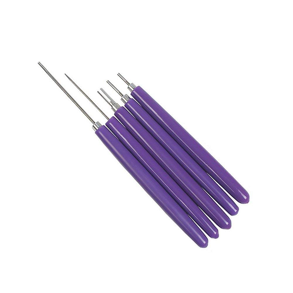 Different Size Quilling Slotted Tools Slotted Needle Pen Art Hand Craft DIY Tool Quilling Tools