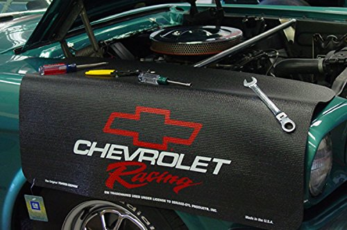 Chevrolet Racing Black Grip Fender Cover