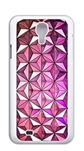 FSKcase? Purple Three Dimensional Triangle Pattern Hard PC cell phone case for samsung galaxy s4