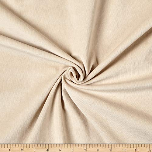 (Telio 21W Stretch Corduroy Fabric, Sand, Fabric By The Yard)