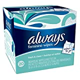 Always Lightly Scented Wipes-To-Go 20 Count (Pack of 4) by Always (English Manual) Bild 3