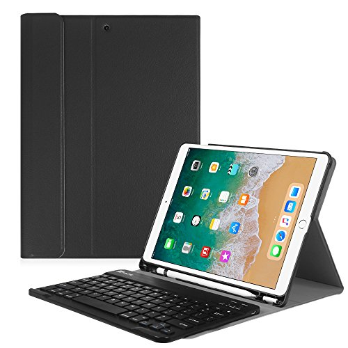 Fintie iPad Pro 10.5 Keyboard Case with Built-in Apple Pencil Holder -...