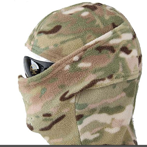 ATAIRSOFT Emerson Warm Flexible Protective Fleece Warmer Hood for Military Tactical Paintball Hunting MC CP Multicam
