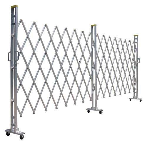 ゲート工業 アルミキャスターゲート 15Y型 高さ1.5m 間口3.6m 片開き B008M0NAE8