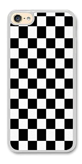 separation shoes 2ab51 90d03 Amazon.com: Custom iPod Touch 6 Cases - Black Checkered Hard Plastic ...