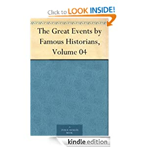 The Great Events Famous Historians, Volume 04