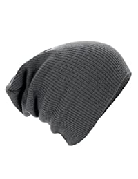 Jiayiqi Unisex Multicolor Slouch Beanie Winter Warm Knitted Hat