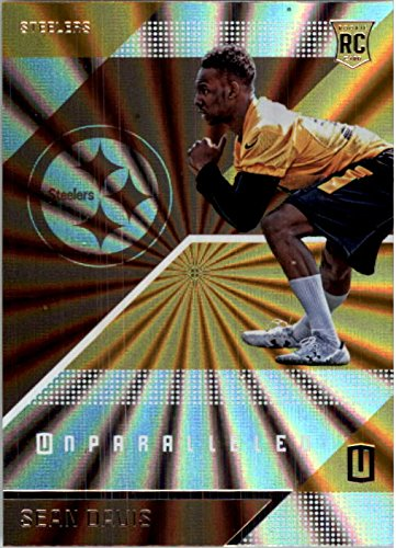 2016 Panini Unparalleled Steelers Football Card #189 Sean Davis Rookie