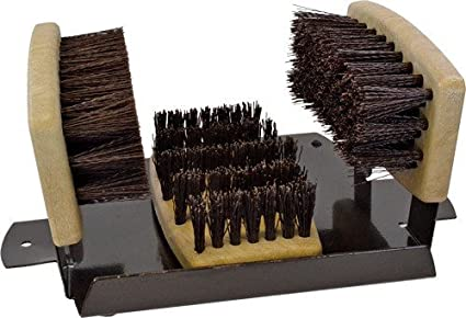 Personal Security Products BB2 Boot Brush W/Scraper