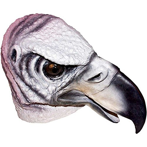 [Realistic Vulture Mask: Full Face Rubber Latex Costume Mask] (Vulture Mask)