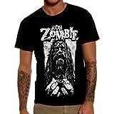 Mazumi8 Rob Zombie Prison Metal T-Shirt Size XL Black