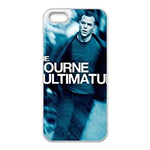 iPhone 5,5S Phone Cases White The Bourne Ultimatum FJo881988