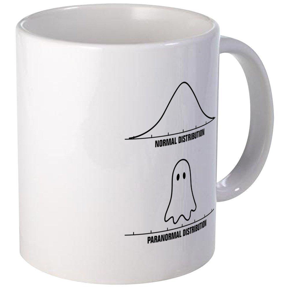 CafePress - Normal Vs Paranormal Distribution Mugs - Unique Coffee Mug, Coffee Cup