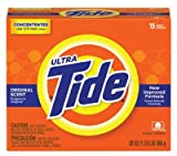 TIDE ULTRA POWDER 20 OZ.15 LOADS ORIGINAL SCENT, Sold as 1 CA