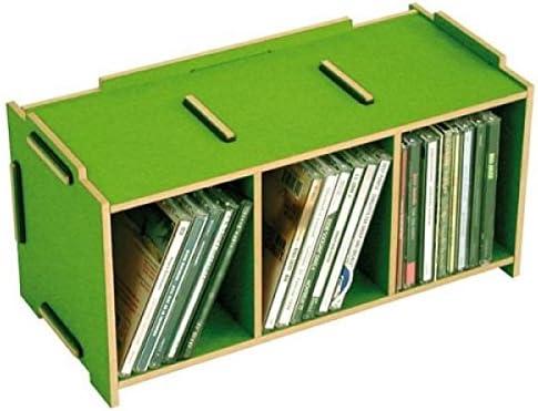 PRECIO en el palo® Medios Caja CD color verde