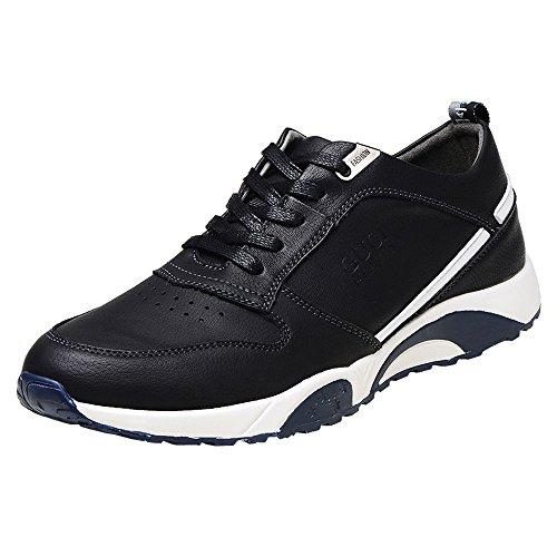 iMaySon(TM) Men's Fashion Flexible Breathable Genuine Oxfoxd Sport Shoes Trendy Gear(8 D(M) US,Black) (Howser Slide Keen compare prices)