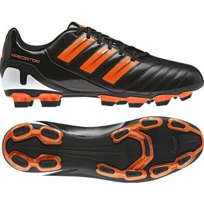 Adidas Predito TRX FG black/running white metallic/warning, Größe Adidas:11.5 (Adidas Shoes Www)