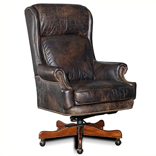 Hooker Furniture Tucker Executive Swivel Tilt Chair, Brown from Hooker Furniture