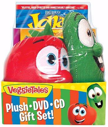 DVD-Veggie Tales: Easter Gift Set w/CD & Bob & Lar
