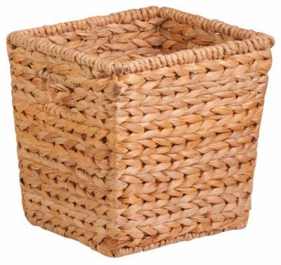 Basket Med Sqr Nat/Brn