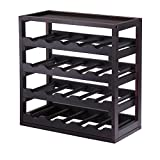 : Winsome Wood Kingston Removable Tray Wine Storage Cube