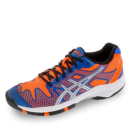 Gel Sportive solution 2 flash Speed silver Scarpe Asics Gs Orange Blue bambino Unisex 5YdwqnTxO