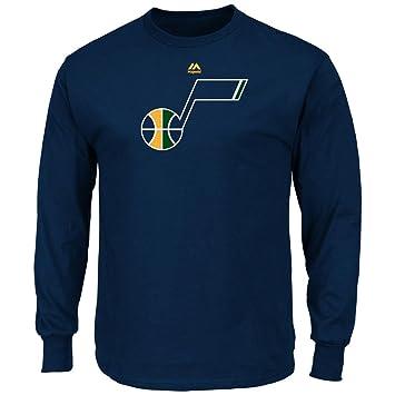 Utah Jazz Logo de manga larga MAJESTIC camiseta, Color del equipo: Amazon.es: Deportes y aire libre