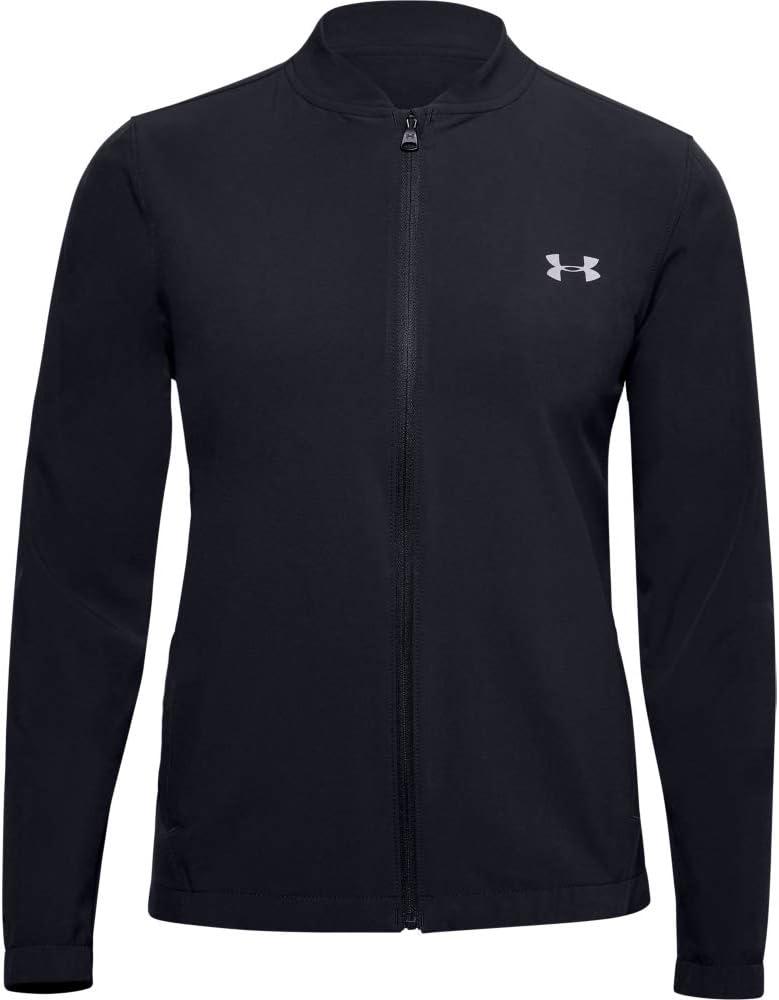 cocina Céntrico El uno al otro  Amazon.com : Under Armour Women's Storm Launch Jacket, Black  (001)/Reflective, X-Small : Clothing
