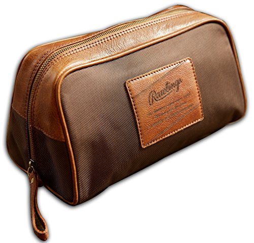 Rawlings Rugged Nylon Travel Kit, Cognac, One Size by Rawlings