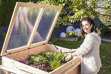Fruhbeet Aufsatz 4260162497957 Fur Labu Hochbeet Amazon De Garten