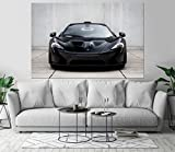 McLaren P1 Luxury Automobile Car Art Print Wall Decor Image Self-Adhesive - Wallpaper Sticker 48 x 72-3XL