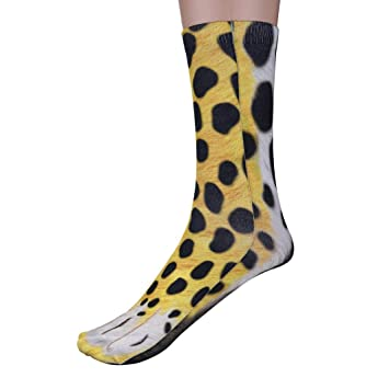 LONGRA mujeres hombre Mode Chic 3d calcetines estampado Animal pata décontracté Mignon disfraz Socks Unisex - Calcetines Tobillo tripulación calcetines ...