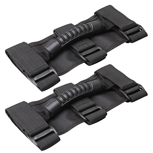 Jeep Heavy Duty Ultimate Roll Bar Grab Handle Set