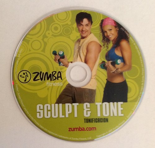 zumba fitness sculpt and tone dvd zumba beautil. Black Bedroom Furniture Sets. Home Design Ideas