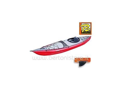 gumotex - gumotex framura roja Kayak hinchable con aleta 045220-r ...