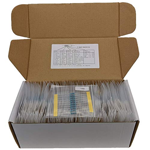 Joe Knows Electronics 1/2W 86 Value 860 Piece Resistor, used for sale  Delivered anywhere in USA