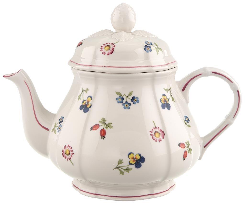 Villeroy & Boch 10-2395-0460 Petite Fleur Teekanne, Porzellan ...