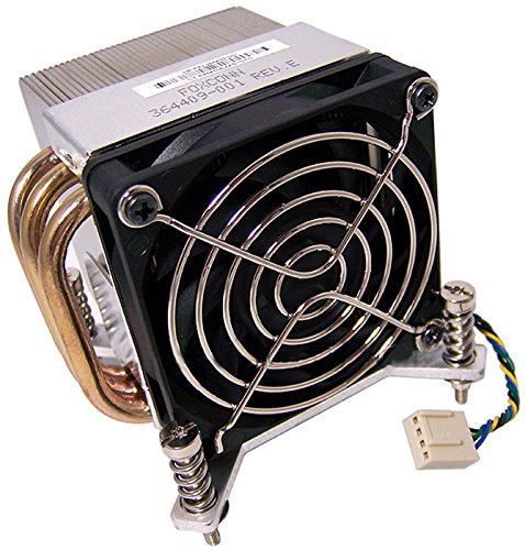 Genuine HP Compaq 364409-001 CPU Fan and Heatsink Assembly Compatible Part Numbers: 364409-001 Compatible Systems: HP DC7100 CMT, HP XW4200, HP DC5100