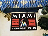 Florida Marlins Baseball Club Starter Rug 19x30 - Licensed Miami Marlins Gifts