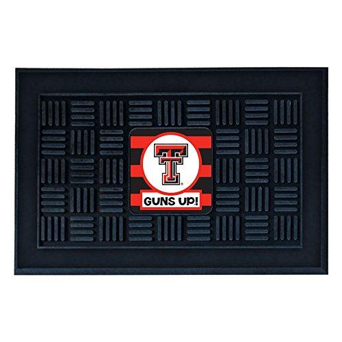 (Texas Tech University Southern Style Vinyl Door Mat)