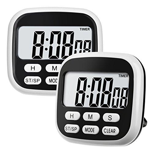 digital kitchen timer with magnet - 8