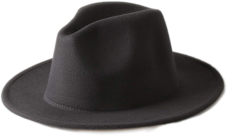 ANDERDM 10 Color Men Women 100/% Wool VTG Wide Brim Felt Trilby Hat BNWT//New Gangster Fedora hat Church Hat