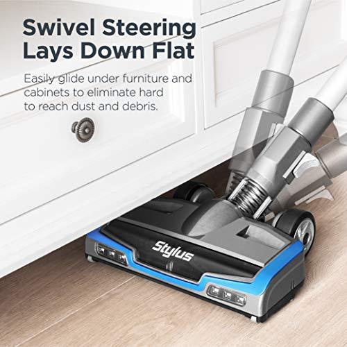 Eureka Stylus Lightweight Cordless Vacuum Cleaner, 350W Powerful BLDC Motor for Multi-Flooring Deep Clean LED Headlights… 6