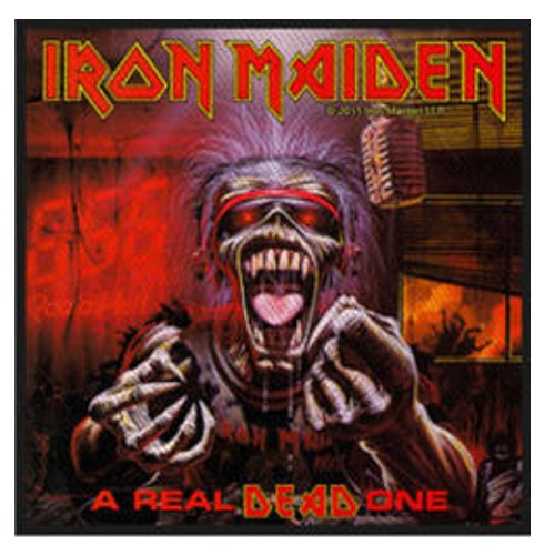 [해외]아이언 메이든 - 진짜 죽은 자 - 패치/Iron Maiden - A Real Dead One - Patch