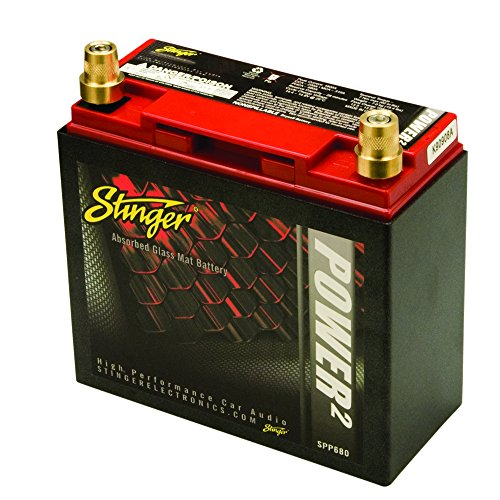 Stinger SPP680 680 Amp SPP Series Dry Cell Battery with Protective Steel Case