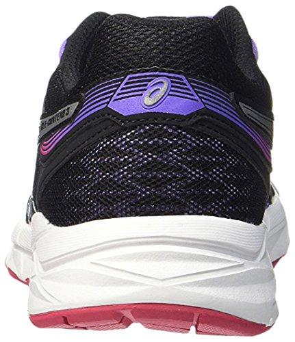 Asics Shoes 3 Women's Iris Silver Running Black T5F9N Gel Contend fwTxOfq74