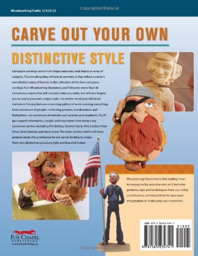 Caricature Carving (Best of WCI): Expert Techniques and 30 All-Time Favorite Projects (Best of Woodcarving Illustrated)