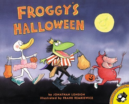 Froggy's Halloween Paperback August 6, 2001]()