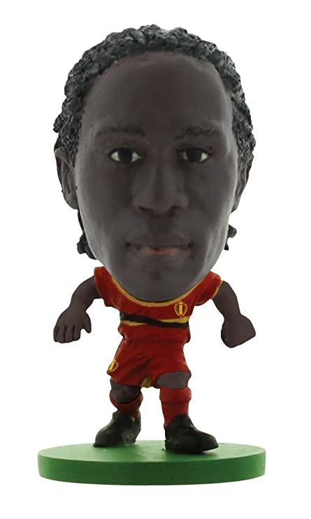 size 40 2aa7f 7bd9d Amazon.com: Romelu Lukaku Belgium Kit Soccerstarz Figure ...