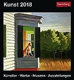 Kunst - Künstler Werke Museen Ausstellungen - Kalender 2018 - Harenberg-Verlag - Tageskalender - 15,4 cm x 16,5 cm
